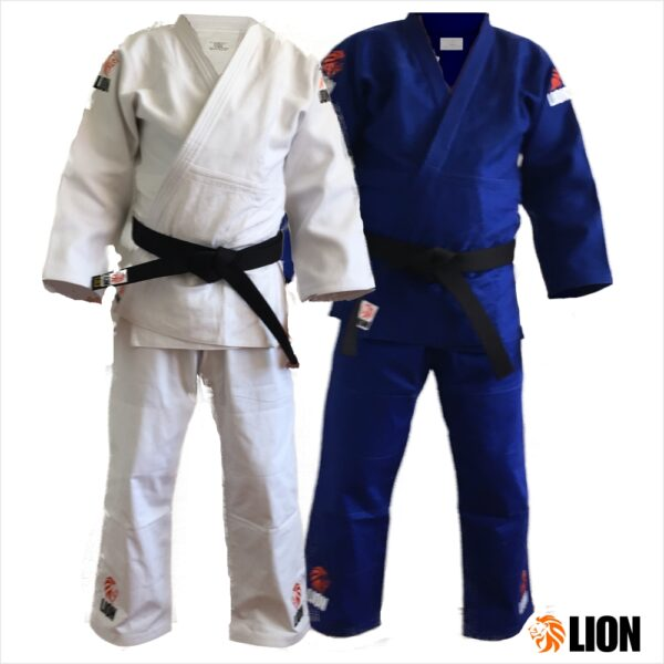 Lion judogi 750 Authentic white and blue