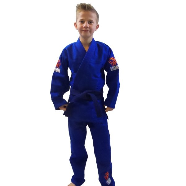 Lion judogi 550 Talent gi boys blue