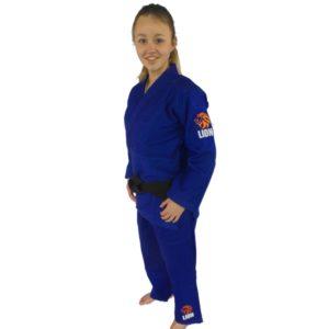 Lion judogi 550 Talent gi girls blue