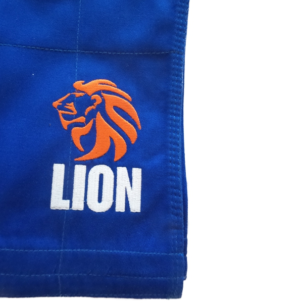 Lion judogi 550 Talent gi girls blue pants