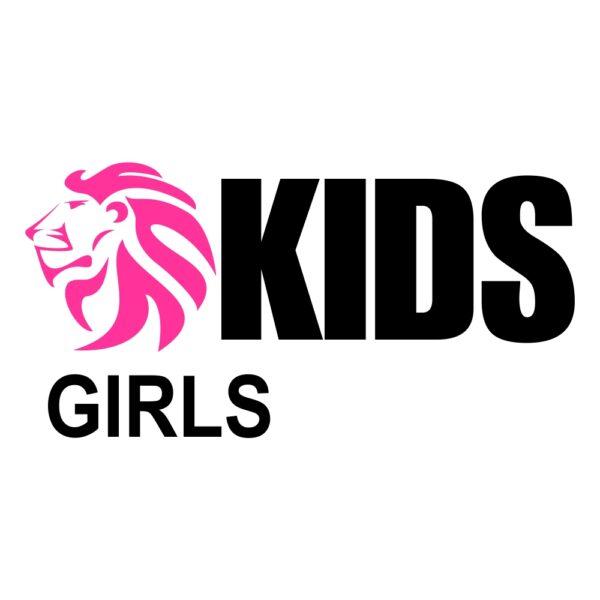 Lion judogi Kids girls logo 1