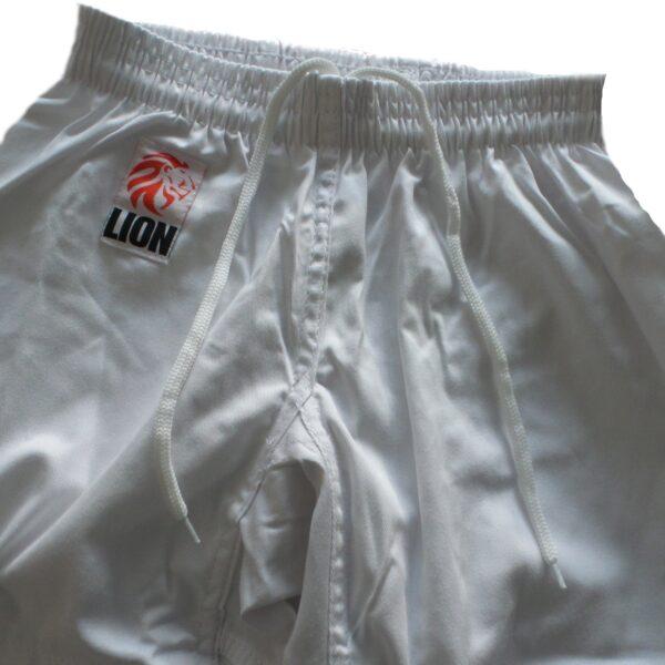 Lion judogi Kids orange zoom pants elastic band and lace