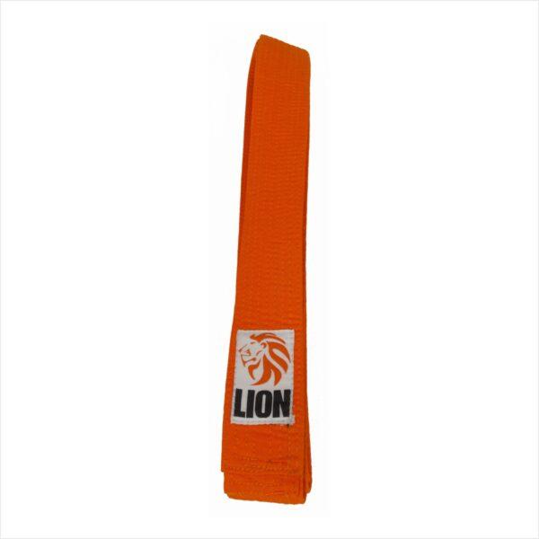 Lion belt orange judo ju-jitsu jiu-jitsu