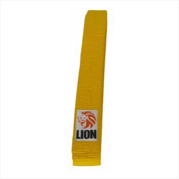 Lion belt yellow judo ju-jitsu jiu-jitsu