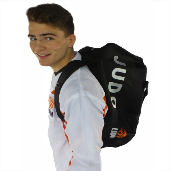 Wear your Lion judo sportsbag as a backpack