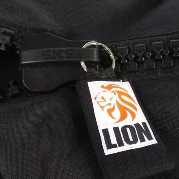 lion judo sportsbag with big zipper