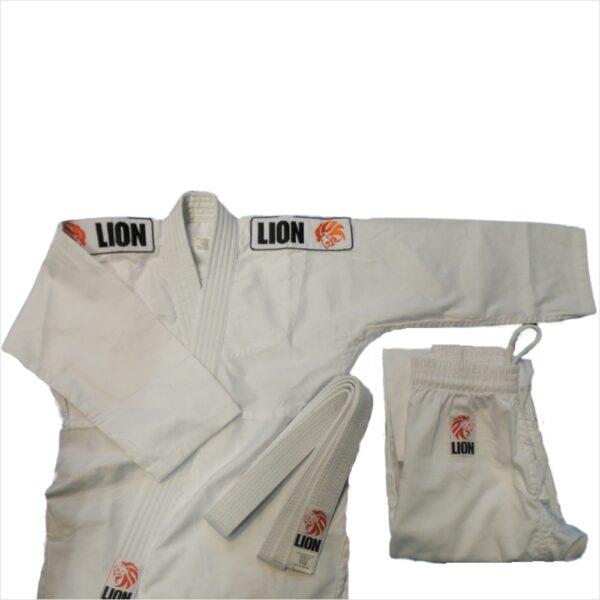 Lion judogi 250 starter kit: kimono pants and belt