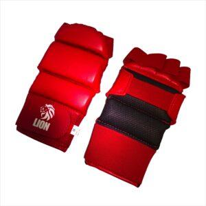 Lion hand protector ju-jitsu jiu-jitsu red